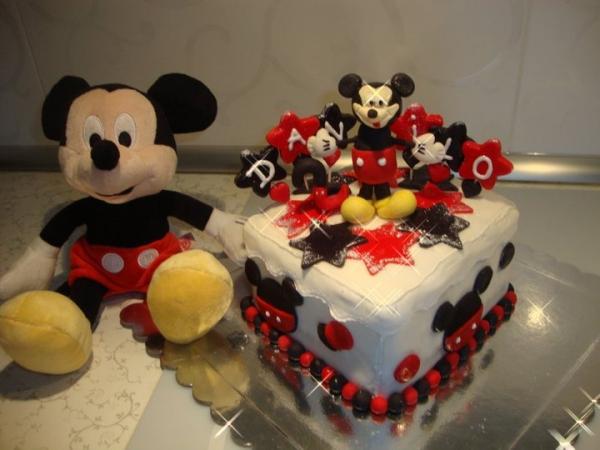 Miki maus - Rođendanske torte - Galerija - Bebac.